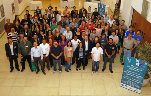 Participants at the Joint Meeting of the Argentinean Crystallographic Association (AACr) in Córdoba, Argentina, October 29, 2013.